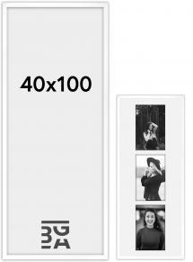 Amanda Box Hvit 40x100 cm