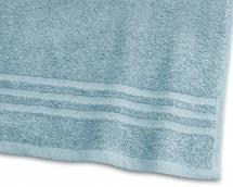 Gjestehåndkle Basic Frotté - Turkis 30x50 cm