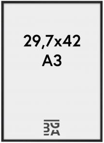 Galant Pleksiglass Svart 29,7x42 cm (A3)