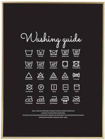 Washing guide - Black