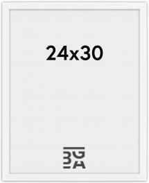 Edsbyn Hvit 2D 24x30 cm