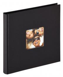Fun Svart - 18x18 cm (30 Svarte sider)
