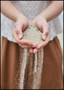Hand in Sand Plakat