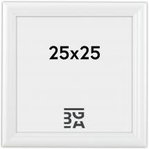 Siljan Hvit 8B 25x25 cm
