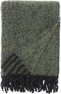 Pledd Kim - Grønn 130x170 cm