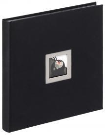 Black & White Svart - 30x30 cm (50 Sorte sider)