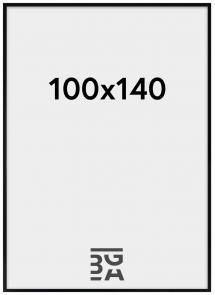 Amanda Box Pleksiglass Svart 100x140 cm