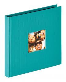 Fun Album Grønn - 18x18 cm (30 Svarte Sider / 15 ark)