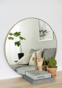 Speil Vendela Messing 80 cm Ø