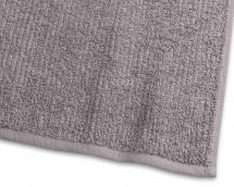 Badehåndkle Stripe Frotté - Grå 65x130 cm