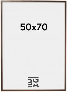 Ramme Edsbyn Valnøtt 50x70 cm
