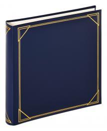 Kvadrat Blå - 30x30 cm (100 Hvite sider / 50 ark)