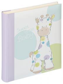 Kima Babyalbum - 28x30,5 cm (50 Hvite sidor / 25 ark)