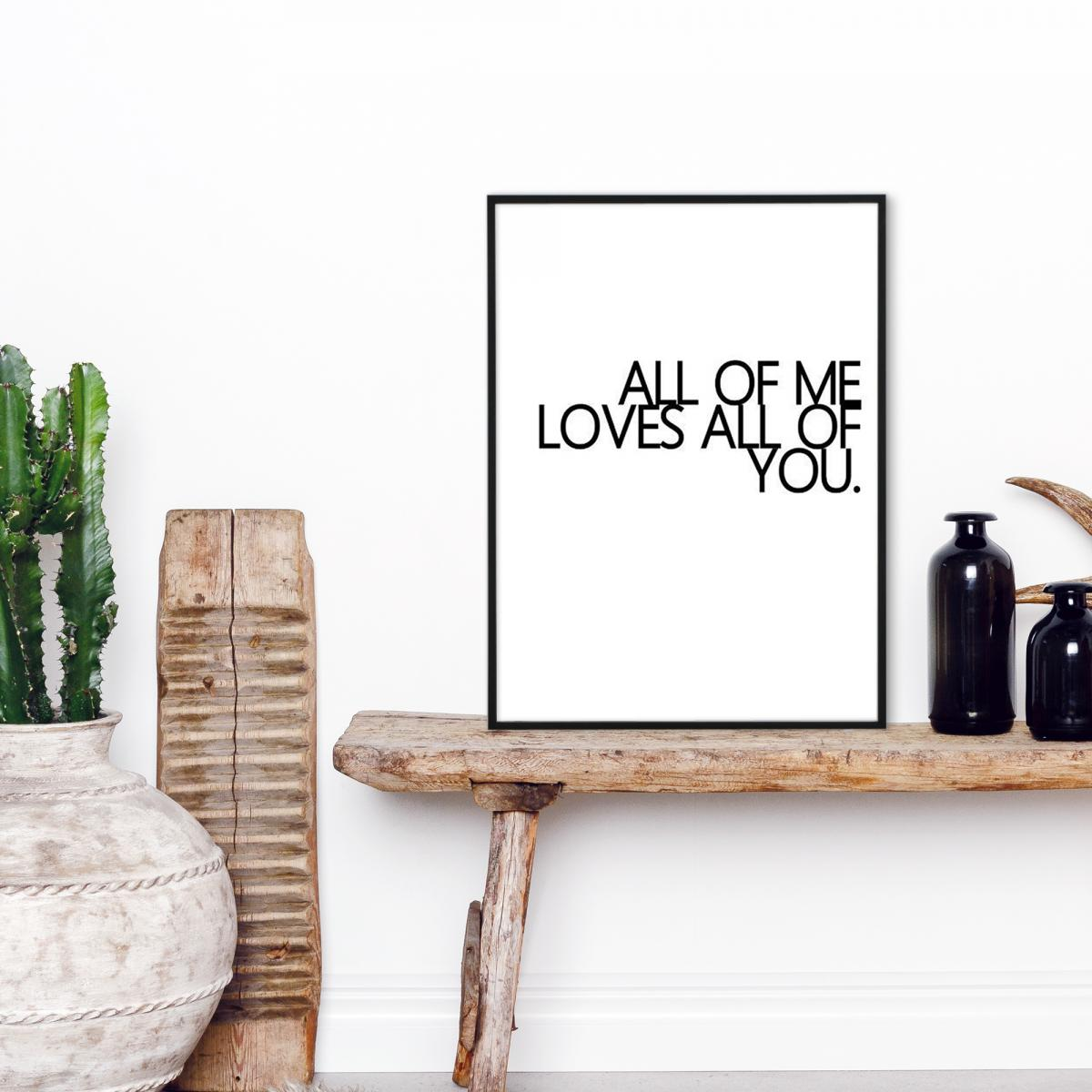 All of me - 30x40 cm