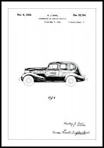 Patenttegning - La Salle III - Poster