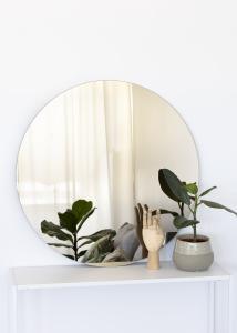 KAILA Rundt Speil Dark Bronze 80 cm