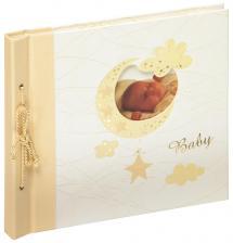 Babyalbum Bambini Maxi Creme - 28x25 cm (60 Hvite Sider / 30 Ark)