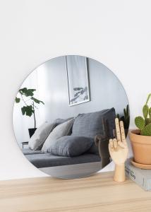 KAILA Rundt Speil Smoked Grey 50 cm Ø