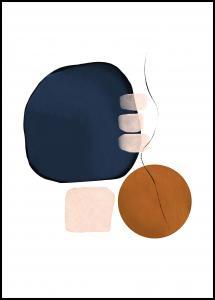 Abstract Shapes III Plakat