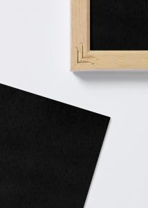 Syrefritt svart innleggsark - 20x25 cm