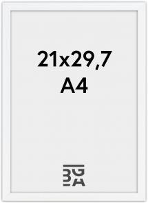 Edsbyn Hvit 2D 21x29,7 cm (A4)