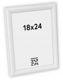 Line Hvit 18x24 cm