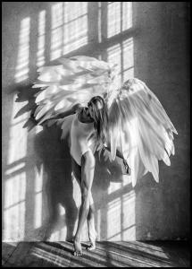 Angel Women Posing II Plakat
