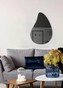 Speil Slim Drop Warm Grey 80x55 cm