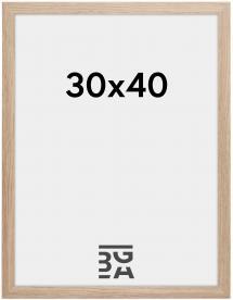 Ramme Stilren Akrylglass Eik 30x40 cm
