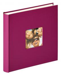 Fun Design Lilla - 30x30 cm (100 Hvite sider / 50 ark)