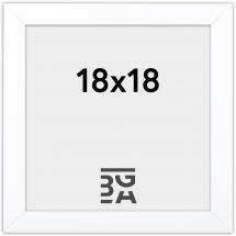 Amanda Box Hvit 18x18 cm