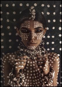 Aboriginal body art I Plakat