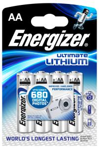 Energizer Ultimate Lithium AA 4pk