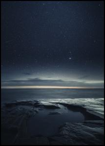 Night at the sea Plakat