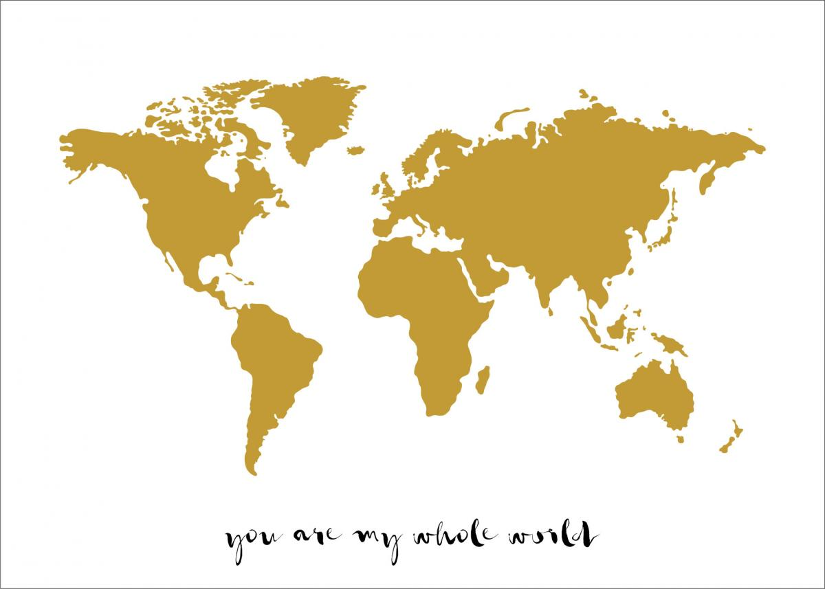 You are my whole world - Gull