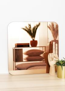 KAILA Speil Square Rose Gold 40x40 cm