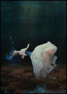 Floating in a dream Plakat
