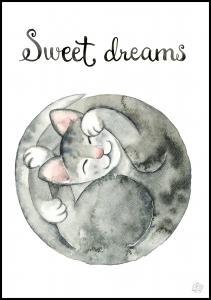 Sweet dreams Plakat