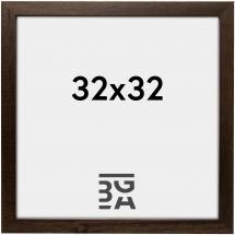 Brown Wood 32x32 cm