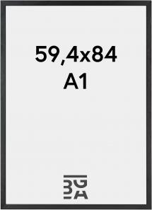 Ramme Black Wood 59,4x84 cm (A1)