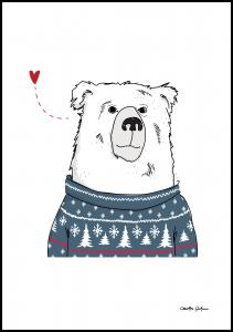 Winter Bear Plakat