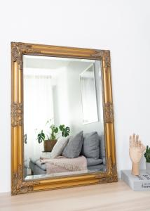 Speil Bologna Gull 50x70 cm
