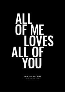 All of me - Black