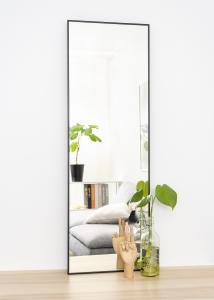 Speil Narrow Svart 40x120 cm