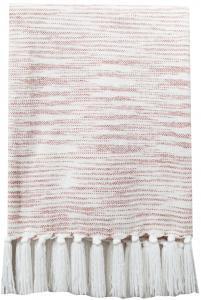 Pledd Sandhamn - Rosa 130x170 cm