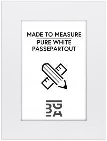 Passepartout Kritthvit - Målbestilt