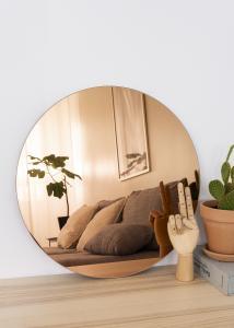 KAILA Rundt Speil Rose Gold 50 cm Ø