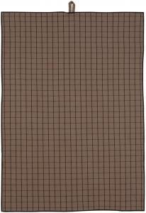 Kjøkkenhåndduk Ture - Sjokolade 50x70 cm