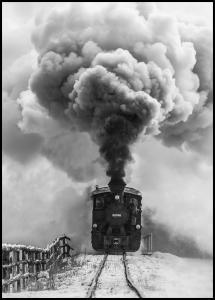 Old train Plakat