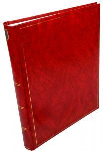 Henzo Basic Line Rød - 30x36 cm (80 Hvite Sider / 40 Ark)
